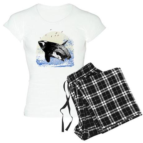 Killer Whale Women's Light Pajamas