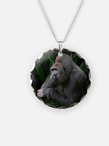 Space Gorilla Necklace
