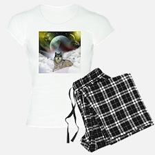 Fantasy Wolf Pajamas