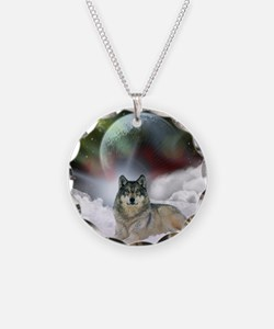 Fantasy Wolf Necklace