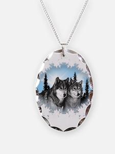 Cute Wolves Necklace