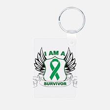 I'm a Liver Cancer Survivor Keychains