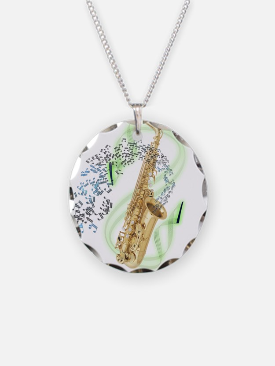 Alto Saxophone Necklace
