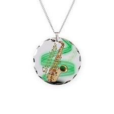 Saxophone Wrap Necklace
