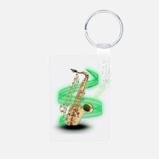 Saxophone Wrap Keychains