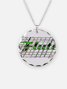 Flute Necklace