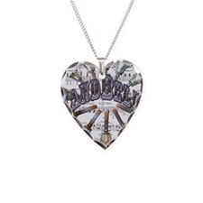 Handbells Necklace Heart Charm