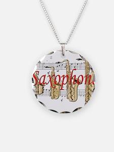 Saxophone Necklace