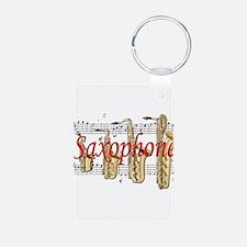 Saxophone Keychains