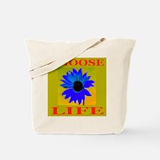 Choose Life Bronze Tote Bag
