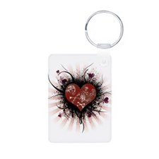 Death Heart Keychains