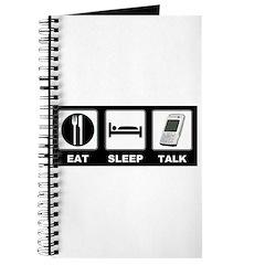 Eat Sleep Talk Journal