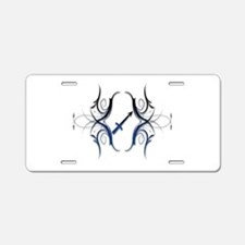 Sagittarius Blue 1 Aluminum License Plate