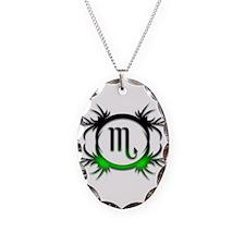 Scorpio Green 2 Necklace