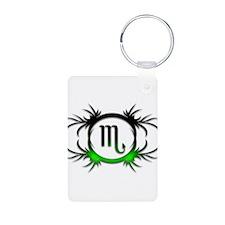 Scorpio Green 2 Keychains