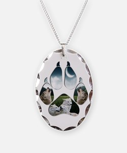 Wolf Print Necklace