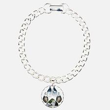 Wolf Print Bracelet