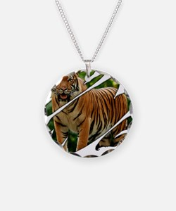 See Through Tiger Necklace
