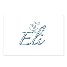 Eli stars and moon Postcards (Package of 8)