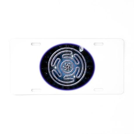 Celestial Hecate's Wheel Aluminum License Plate