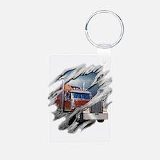 Torn Trucker Keychains