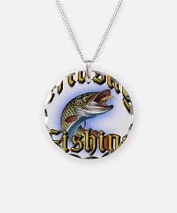Musky Fishing 2 Necklace