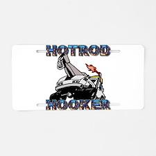 Hot Rod Hooker Aluminum License Plate