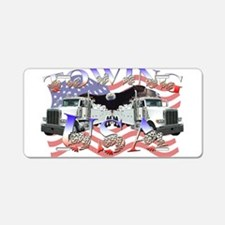 Towing USA Aluminum License Plate