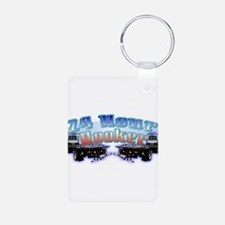 24 Hour Flatbed Keychains
