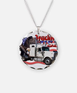 Trucking USA Necklace