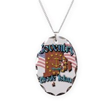 Coventry Necklace Oval Charm