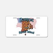 Newport Aluminum License Plate