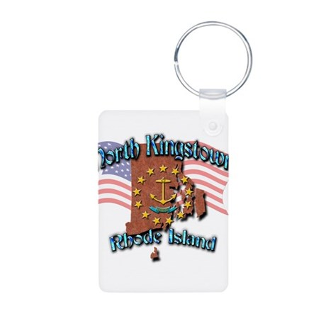 North Kingstown Aluminum Photo Keychain