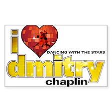 I Heart Dmitry Chaplin Sticker (Rectangle)