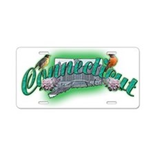 Connecticut Aluminum License Plate