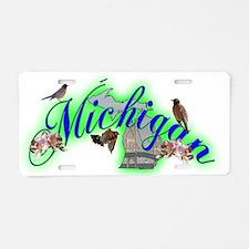 Michigan Aluminum License Plate