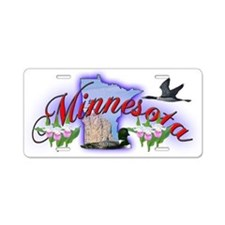 Minnesota Aluminum License Plate