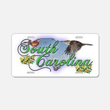 South Carolina Aluminum License Plate