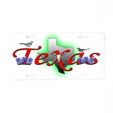 Texas Aluminum License Plate