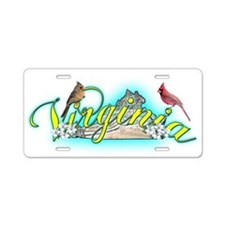 Virginia Aluminum License Plate
