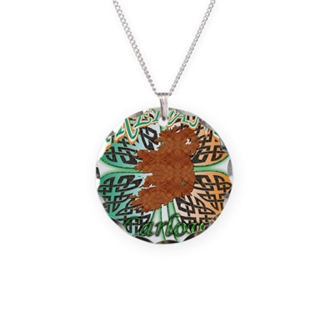 Carlow Necklace Circle Charm