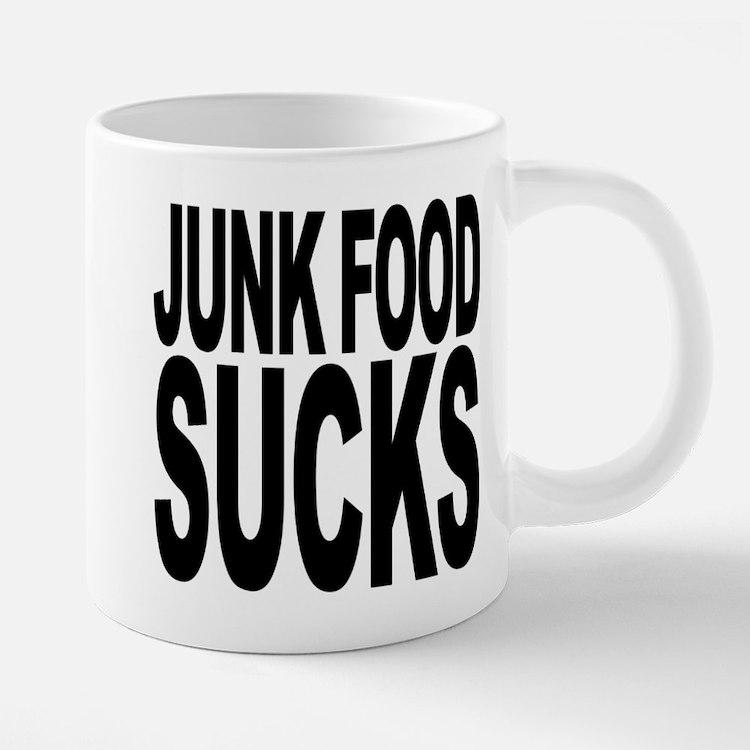 Cute Fast food 20 oz Ceramic Mega Mug