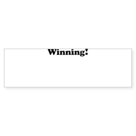 Winning! Sticker (Bumper)