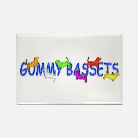 Basset Hound Rectangle Magnet