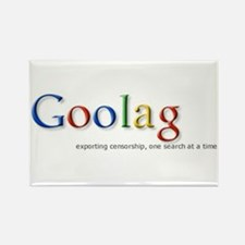 Goolag, Exporting Censorship, Rectangle Magnet