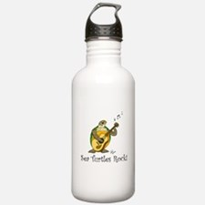 Sea Turtles Rock Water Bottle