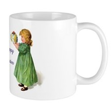 Victorian Easter Children Coffee Mug