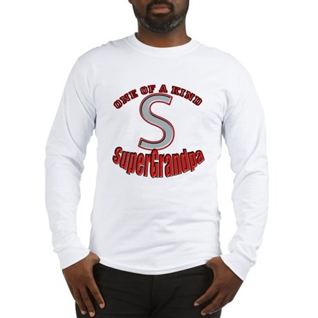 SUPER GRANDPA Long Sleeve T-Shirt