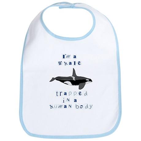 I'm a Whale Bib