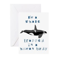 I'm a Whale Greeting Cards (Pk of 10)